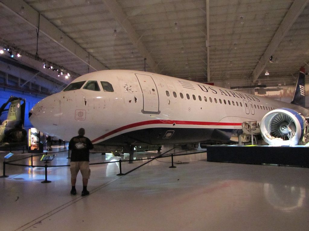 Carolinas Aviation Museum - Airbus A320