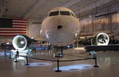 Carolinas Aviation Museum - Airbus A320